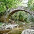 Pont de la riera i entorn a Sant Pere de Torelló ***