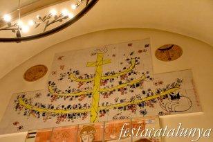 Palafrugell - Església de Sant Martí - Mural de la Pau i la Discòrdia de Tano Pisano
