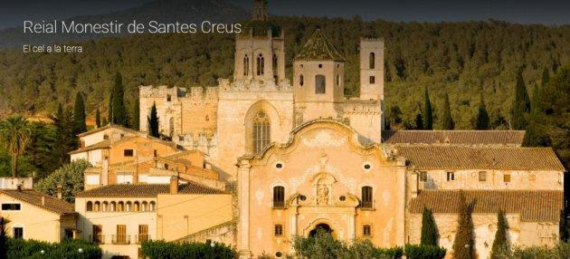Visita virtual al Reial Monestir de Santes Creus