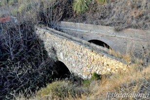 Òdena - Aqüeducte de l'Espelt - Pont Xic