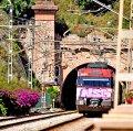 Túnel del tren a Montgat