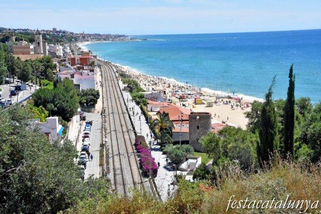 Montgat - Mirador del Turó del túnel de tren