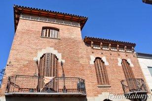 La Garriga - Carrer dels Banys - Casa Ramona Sallent i Freixa