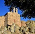 Església romànica de Sant Pere Desvim o del Vim a Veciana ***