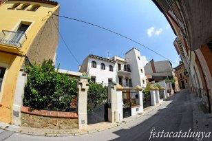 La Garriga - Passeig dels Til·lers i entorn - Casa Dolors Vilar, Carrer Samalús