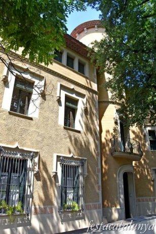 La Garriga - Passeig dels Til·lers i entorn - Casa Mercè Pascual