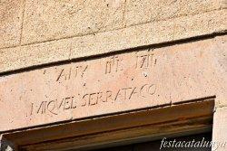 La Garriga - Plaça de l'Església i entorn - Can Serratacó