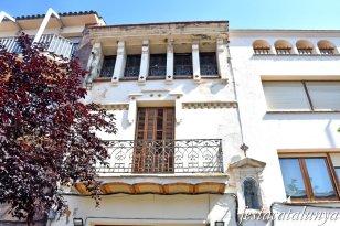 La Garriga - Plaça de l'Església i entorn - Casa Francesc Blancafort