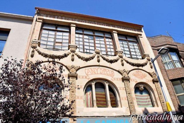 La Garriga - Carrer Calàbria i entorn -  Cafè Sala de festes La Alhambra