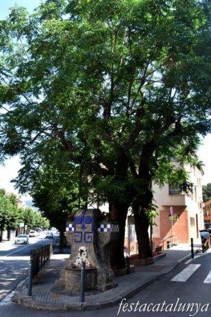 La Garriga - Carrer Calàbria i entorn -  Font de Santa Digna