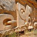 Escultura Formats a la Natura a Caseres