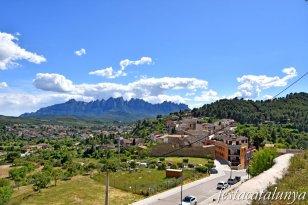 Castellgalí - Castell - Vistes panoràmiques