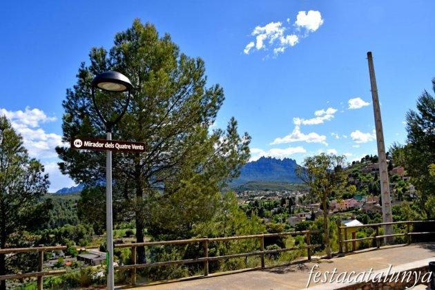 Castellgalí - Mirador dels Quatre Vents