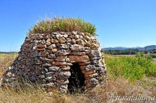 La Torre de Claramunt - Barraques de pedra seca - Barraca prop de Vilanova d'Espoia