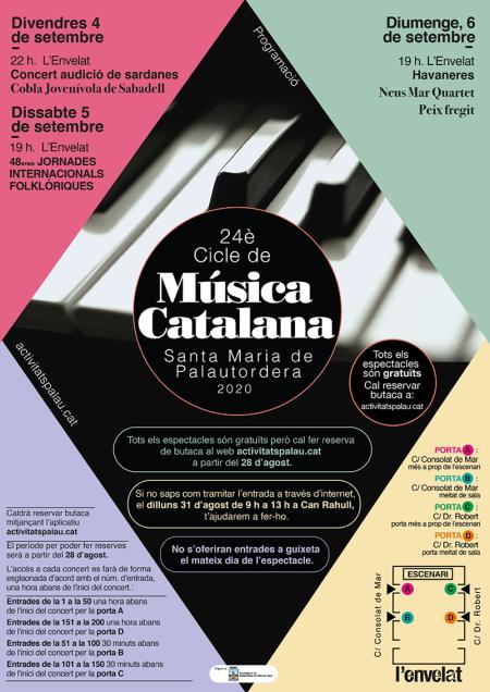 Santa Maria de Palautordera - Cicle de Música Catalana