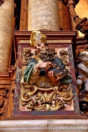 Igualada - Retaule Major de Santa Maria