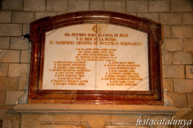 Igualada - Cripta de Santa Maria