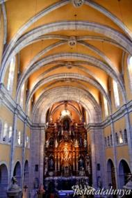 Igualada - Temple renaixentista de Santa Maria