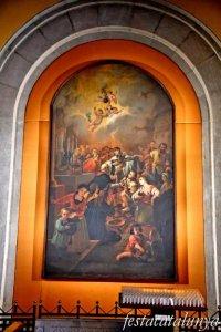 Igualada - Temple renaixentista de Santa Maria - Capelles laterals