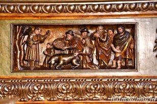 Igualada - Temple renaixentista de Santa Maria - Fragments Retaule Sant Antoni