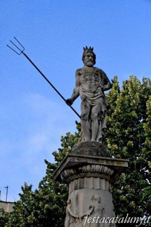 Igualada - Escultures urbanes - Font del rei Neptú