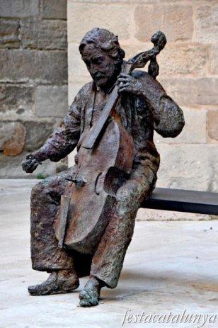 Igualada - Escultures urbanes - A Jordi Savall