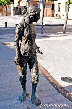 Igualada - Escultures urbanes - Nos (altres)