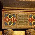 Sepulcres d'Elionor de Pinós i Constança de Cardona al monestir de Pedralbes ***