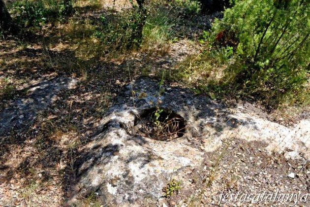 Els Prats de Rei - Torre de la Manresana - Tomba i restes d'habitatge medieval