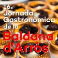 Jornada Gastronòmica de la Baldana d'Arròs a Camarles