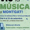 Viu la Música a Montgat, Cicle de Música a l'aire lliure