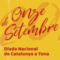 Diada Nacional de Catalunya a Tona