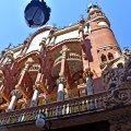 Façana exterior del Palau de la Música Catalana de Barcelona ***