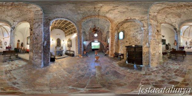 Gelida - Església de Sant Pere del castell de Gelida