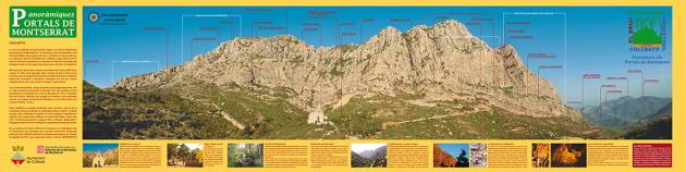 Muntanya de Montserrat al terme de Collbató