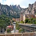 Montserrat vista des dels quatre punts cardinals