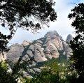Vista de la muntanya de Montserrat des de Piera ***