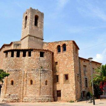 Cunit - Església de Sant Cristòfol (Foto: Cunit Turisme)