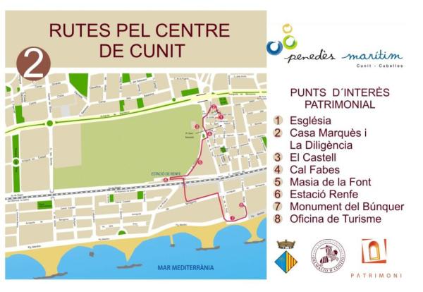 Ruta pel centre de Cunit
