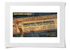 Sant Jaume dels Domenys - Embalatges i palets Expósito