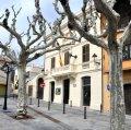 Plaça del poble de Sant Vicenç de Montalt