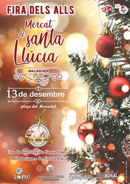 Balaguer - Fira dels Alls, Mercat de Santa Llúcia