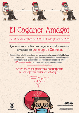 Cervera - El Caganer amagat