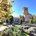 Església del monestir de Santa Maria de l'Estany ***