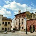 Plaça Font del Lleó de Caldes de Montbui
