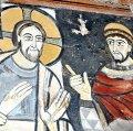 Pintures romàniques a l'església de Sant Salvador de Polinyà ***