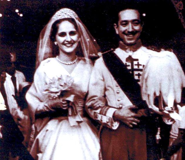 Casament de Manuel de la Sierra y Torres amb la marquesa d'Urquijo, Maria Lourdes Urquijo