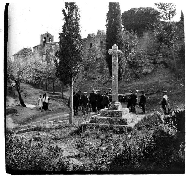 Cabrera d'anoia - Creu de terme (Enterrament doble l'any 1915)