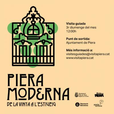 Visita Guiada Piera Moderna. De la vinya a l'estiueig