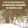 Actes de commemoració del 82 aniversari del bombardeig i de Foment de la Pau a La Garriga